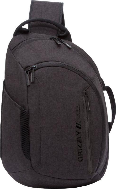 Рюкзак молодежный Grizzly, 14 л. RU-805-3/1RU-805-3/1Рюкзак молодежный Grizzly - лаконичная и очень удобная модель, в которую поместится все: школьные принадлежности и завтрак, одежда и многое другое. Рюкзак, выполненный из полиэстера, имеет одно отделение, два передних кармана на молнии, боковой карман, карман для телефона на лямке,внутренний карман для ноутбука, внутренний карман на молнии, внутренний карман-пенал для карандашей. Благодаря текстильной ручке рюкзак можно повесить, а подвесная система позволяет регулировать лямки и тем самым адаптировать изделие под рост владельца.