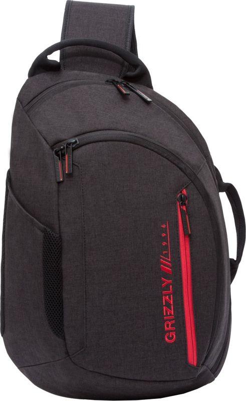 Рюкзак молодежный Grizzly, цвет: красный, черный, 14 л. RU-805-3/2RU-805-3/2Рюкзак молодежный Grizzly.Рюкзак молодежный, одно отделение, два передних кармана на молнии, боковой карман, карман для телефона на лямке,внутренний карман для ноутбука, внутренний карман на молнии, внутренний карман-пенал для карандашей, укрепленная спинка, дополнительная ручка-петля, одна укрепленная лямка.Объем: 14 л.