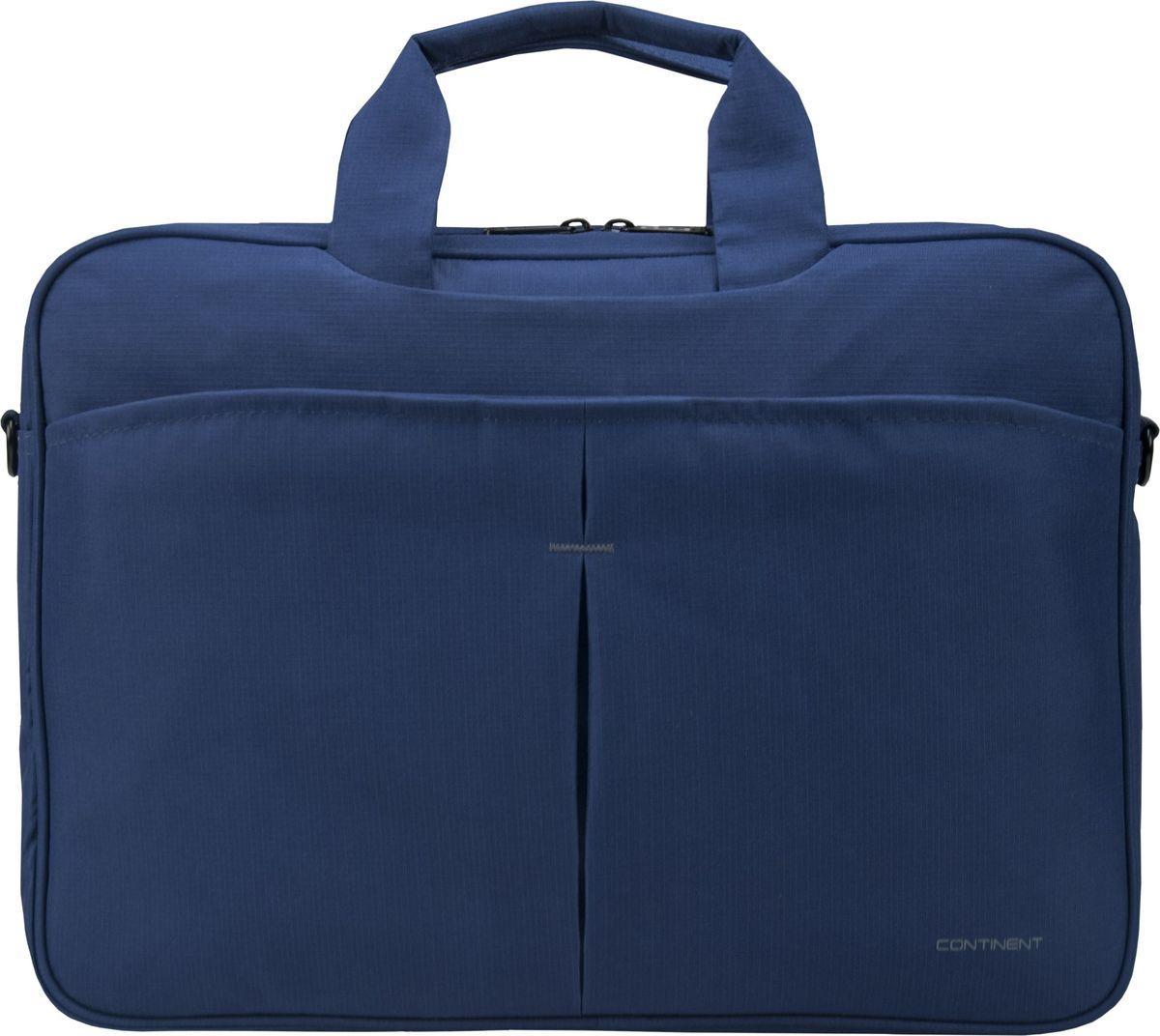 Continent CC-012, Blue сумка для ноутбука 15,600-10004Сумка для ноутбука Continent CC-012 изготовлена из прочного и водоотталкивающего материала - нейлона. Таким образом, используя модель Continent CC-012, вы можете переносить ноутбук даже в дождливую погоду. При этом влага не попадет внутрь устройства, если вы надежно застегнули молнию. На передней части чехла расположен большой карман, который разделен на две ровные части. Там вы можете хранить блокнот, телефон или ручки. Дополнительные предметы всегда будут у вас под рукой.