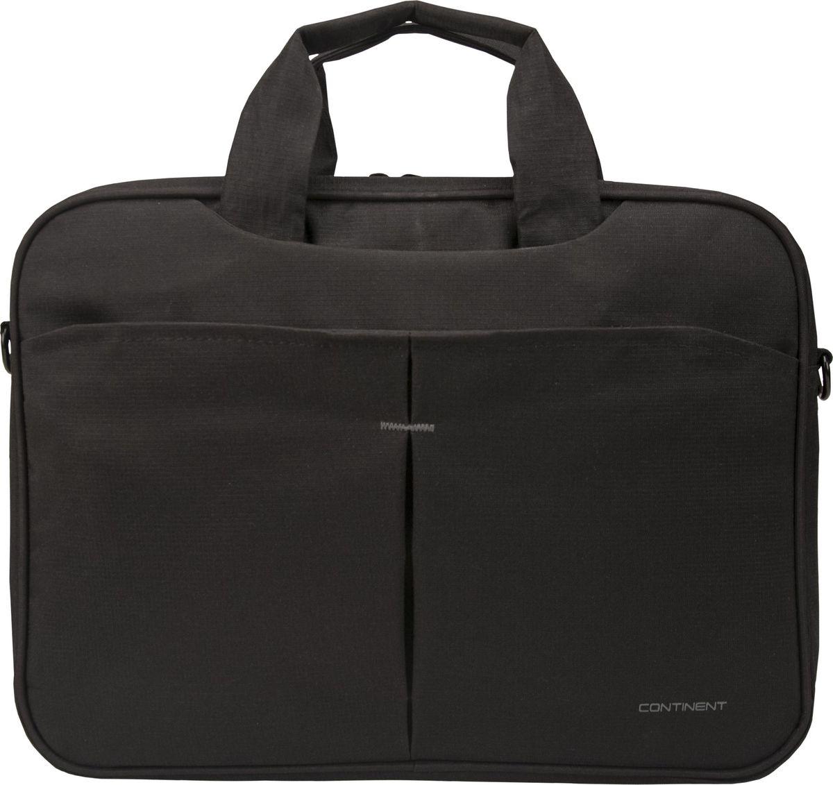 Continent CC-014, Black сумка для ноутбука 13,300-5000354Continent CC-014 - удобная и практичная сумка, предназначенная для переноски ноутбука. Она пригодится всем, кто много времени проводит в деловых командировках и туристических путешествиях, часто возит с собой мобильный компьютер, чтобы работать и развлекаться во время поездки.Сумка изготовлена из устойчивого к износу материала, снабжена удобной ручкой и плечевым ремнем. Ее создатели предусмотрели дополнительные карманы, в которых можно хранить аксессуары для ноутбука, документы, различные полезные мелочи.