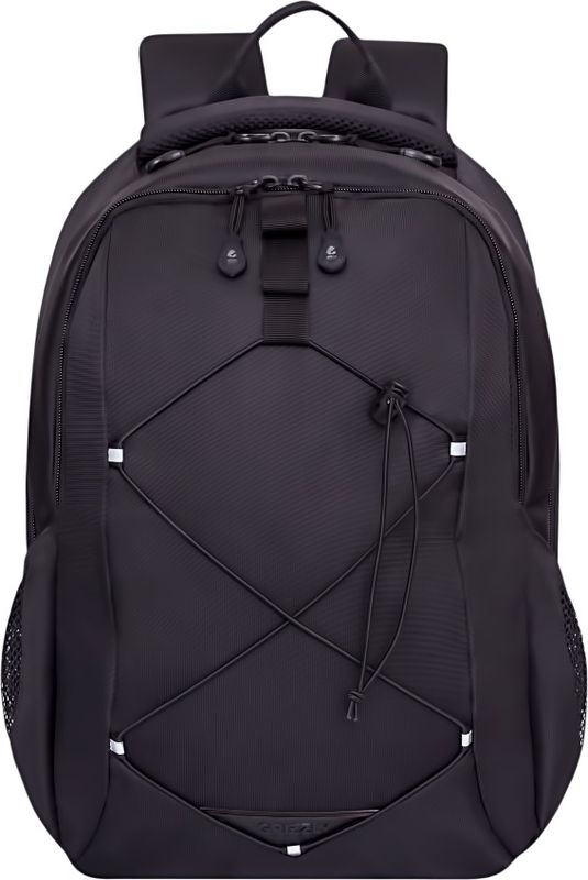 Рюкзак молодежный Grizzly, цвет: черный, 16 л. RU-808-2/2RU-808-2/2Рюкзак молодежный Grizzly - лаконичная и очень удобная модель, в которую поместится все: школьные принадлежности и завтрак, одежда и многое другое. Рюкзак, выполненный из нейлона, имеет два отделения, на передней стенке стяжка-шнур,боковые карманы из сетки, внутренний карман для электронных устройств, внутренний составной пенал-органайзер. Благодаря текстильной ручке рюкзак можно повесить, а подвесная система позволяет регулировать лямки и тем самым адаптировать изделие под рост владельца.
