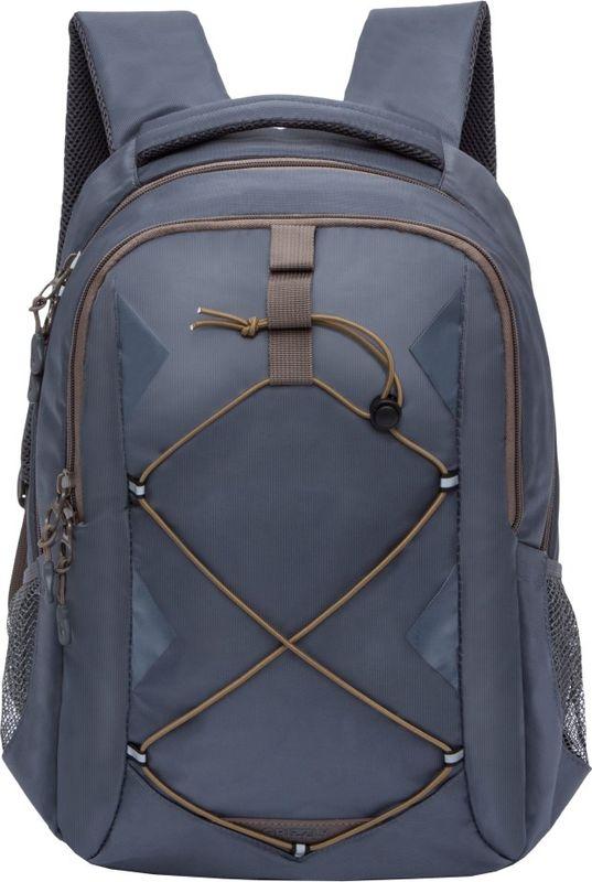 Рюкзак молодежный Grizzly, 16 л. RU-808-2/4RU-808-2/4Рюкзак молодежный Grizzly - лаконичная и очень удобная модель, в которую поместится все: школьные принадлежности и завтрак, одежда и многое другое. Рюкзак, выполненный из нейлона, имеет два отделения, на передней стенке стяжка-шнур,боковые карманы из сетки, внутренний карман для электронных устройств, внутренний составной пенал-органайзер. Благодаря текстильной ручке рюкзак можно повесить, а подвесная система позволяет регулировать лямки и тем самым адаптировать изделие под рост владельца.