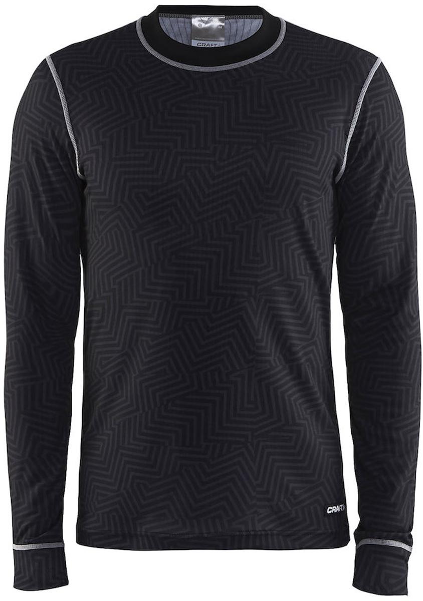 Термобелье кофта мужская Craft Mix & Match, цвет: черный. 1904510/9104. Размер S (46)1904510/9104