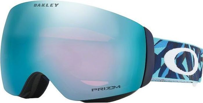 Маска горнолыжная Oakley FlightDeck XM, цвет: синий, голубой0OO7064-70646400Сноубордическая маска для людей со средним лицом. В модели предусмотрен быстрый механизм замены линзы. Линза подходит для переменной облачности