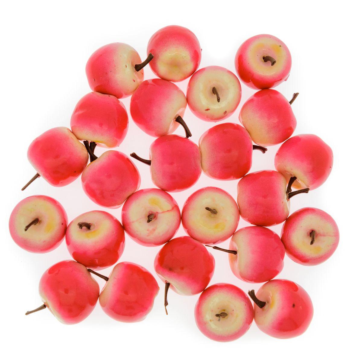 Анданте Счетный материал Яблочки цвет розовый, желтый 24 элемента