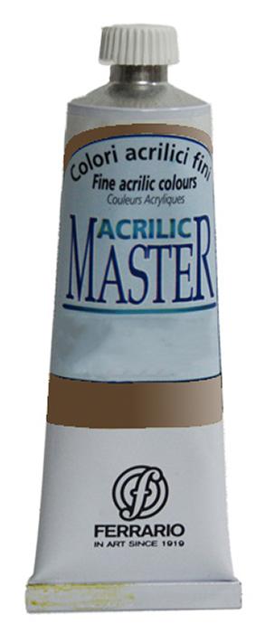 Ferrario Краска акриловая Acrilic Master цвет №46 умбра жженая BM09760CO46BM09760CO46Акриловые краски серии ACRILIC MASTER итальянской компании Ferrario. Универсальны в применении, так как хорошо ложатся на любую обезжиренную поверхность: бумага, холст, картон, дерево, керамика, пластик. При изготовлении красок используются высококачественные пигменты мелкого помола. Краска быстро сохнет, обладает отличной укрывистостью и насыщенностью цвета. Работы, сделанные с помощью ACRILIC MASTER, не тускнеют и не выгорают на солнце. Все цвета отлично смешиваются между собой и при необходимости разбавляются водой. Для достижения необходимых эффектов применяют различные медиумы для акриловой живописи. В серии представлено 50 цветов.