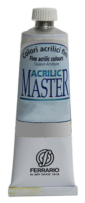 Ferrario Краска акриловая Acrilic Master цвет №51 серебро BM09760CO51BM09760CO51Акриловые краски серии ACRILIC MASTER итальянской компании Ferrario. Универсальны в применении, так как хорошо ложатся на любую обезжиренную поверхность: бумага, холст, картон, дерево, керамика, пластик. При изготовлении красок используются высококачественные пигменты мелкого помола. Краска быстро сохнет, обладает отличной укрывистостью и насыщенностью цвета. Работы, сделанные с помощью ACRILIC MASTER, не тускнеют и не выгорают на солнце. Все цвета отлично смешиваются между собой и при необходимости разбавляются водой. Для достижения необходимых эффектов применяют различные медиумы для акриловой живописи. В серии представлены 50 цветов.