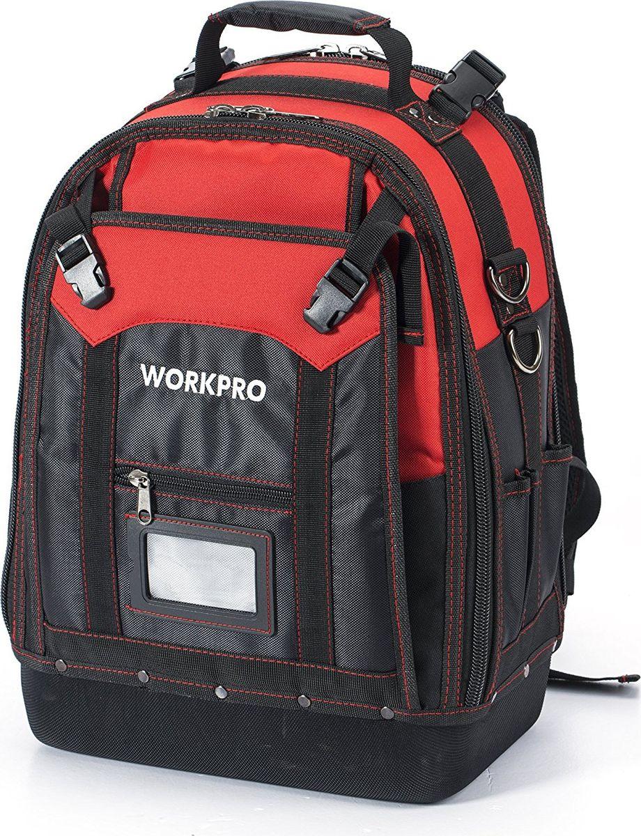 Рюкзак для инструмента Workpro, 37 кармановW081065Рюкзак для инструмента высокой прочности 37 карманов WORKPRO, W081065