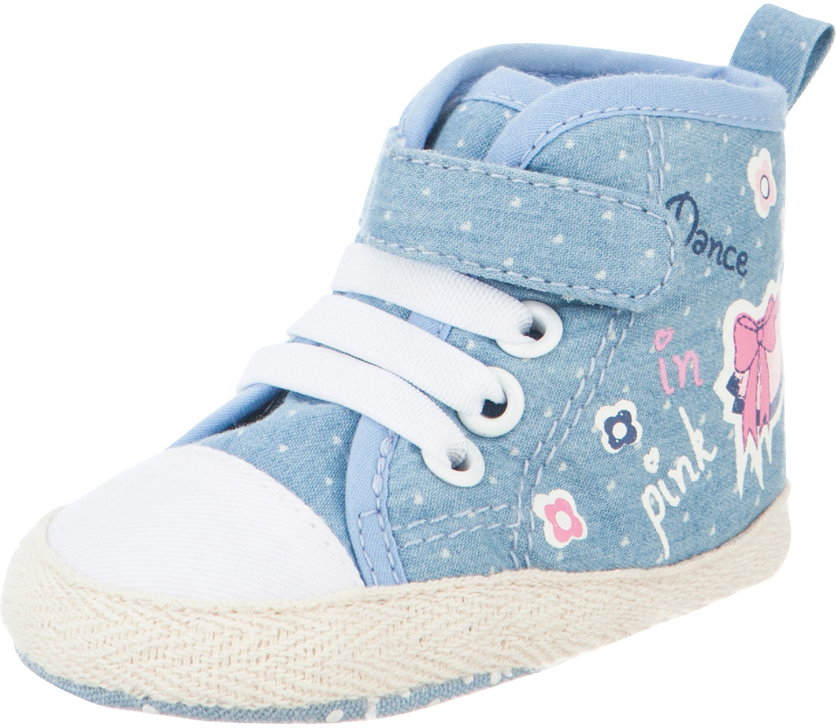Пинетки детские Kapika, цвет: джинс. 10122. Размер 18 пинетки детские капика цвет серый 10126 размер 18
