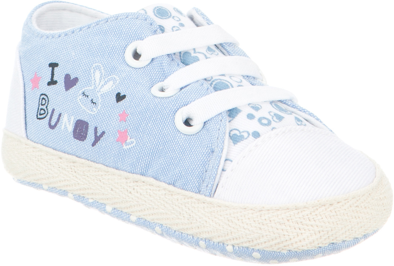 Пинетки детские Kapika, цвет: синий. 10124. Размер 1710124