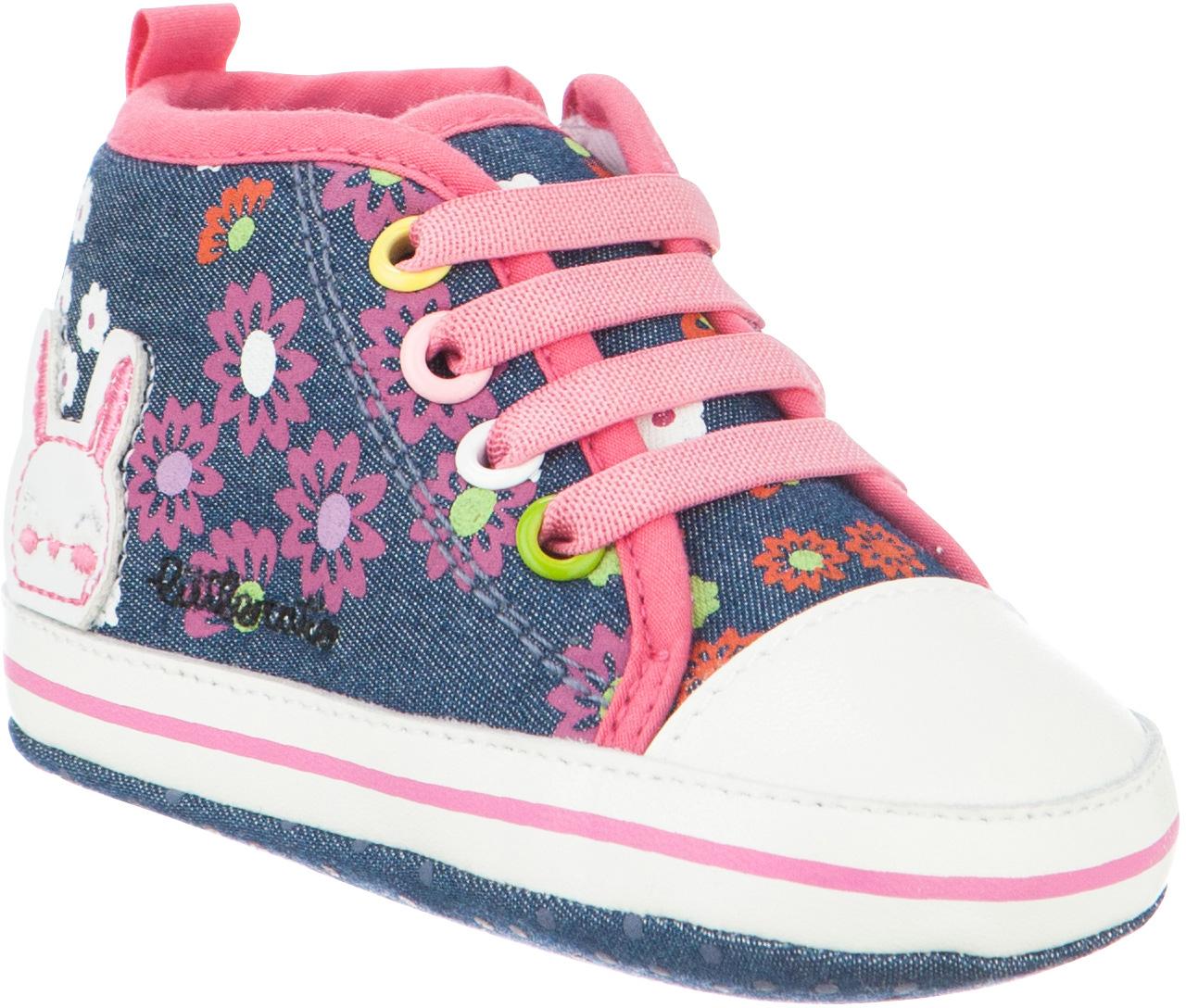 Пинетки детские Kapika, цвет: джинс. 10124. Размер 1710124Стильные и модные пинетки от Kapika великолепно дополнят наряд вашего малыша. В них он будет чувствовать себя комфортно и непринужденно. Пинетки в виде кед выполнены из хлопкового текстиля.Милые, нежные и удобные детские пинетки станут любимой обувью маленького непоседы.