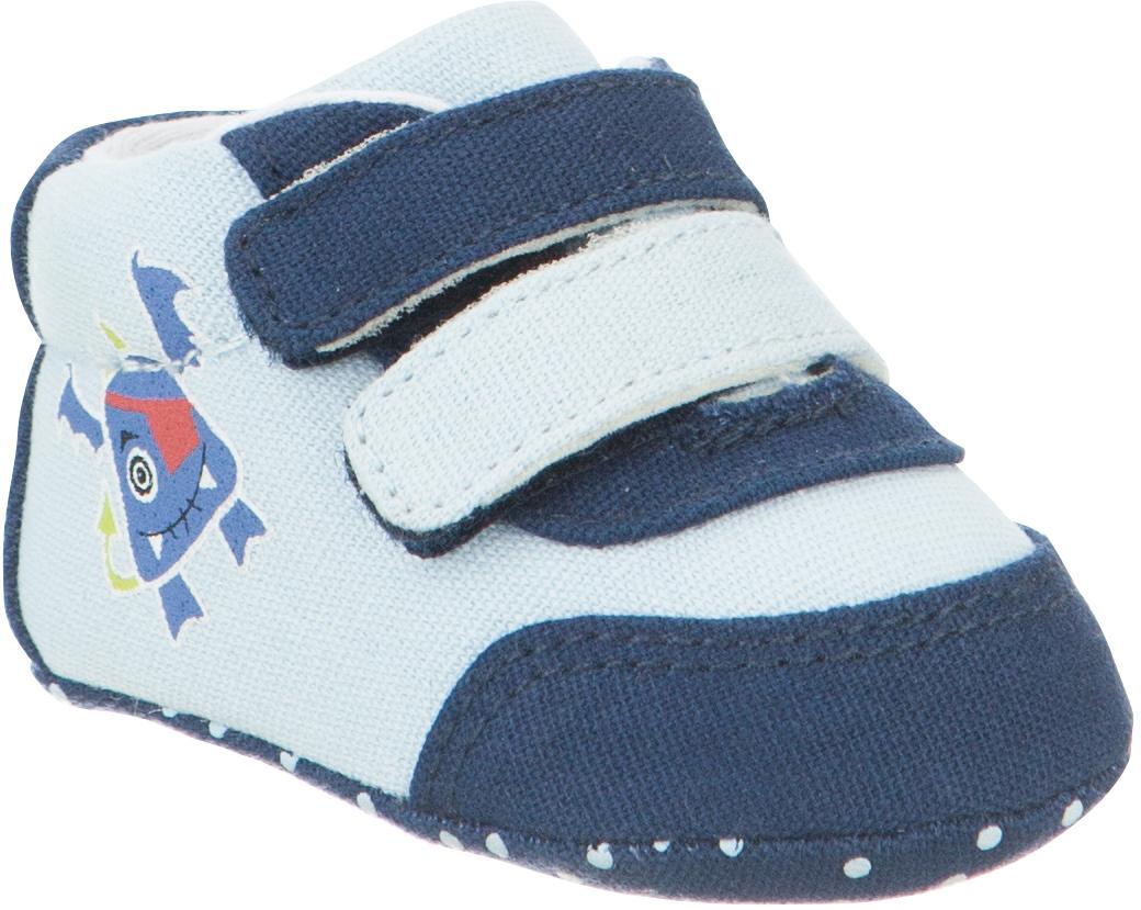 Пинетки детские Капика, цвет: синий, голубой. 10127. Размер 1610127