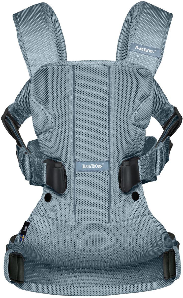 BabyBjorn Рюкзак для переноски ребенка One Mesh цвет темно-бирюзовый - Рюкзаки, слинги, кенгуру
