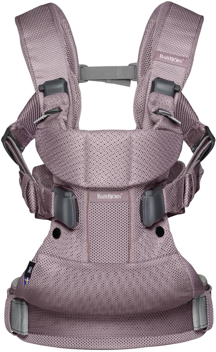 BabyBjorn Рюкзак для переноски ребенка One Mesh цвет лавандовый - Рюкзаки, слинги, кенгуру