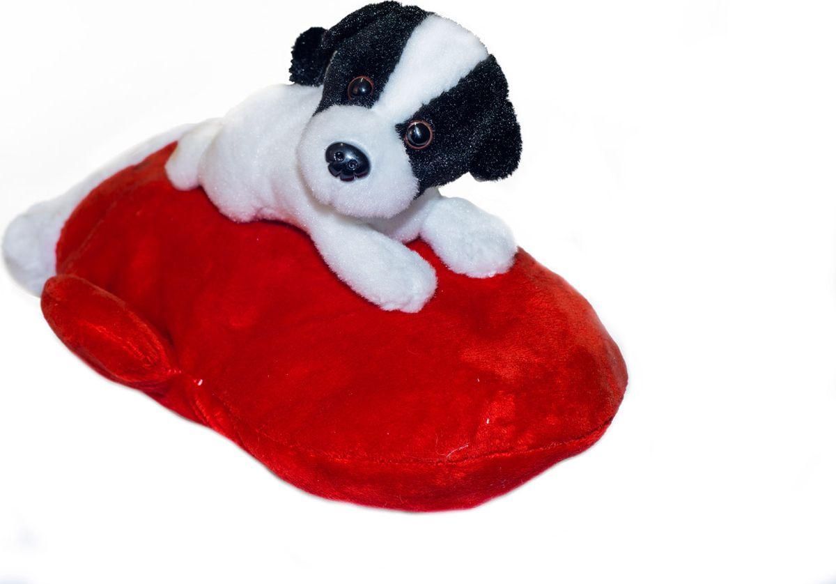 Сладкий новогодний подарок мягкая игрушка Щенок на варежке, 500 г1590Как удивить и порадовать ребенка в главный зимний праздник? Представляем вашему вниманию необычный новогодний подарок – сладости в мягкой игрушке. Это сразу два сюрприза в одном! В качестве вкусной начинки прекрасно подобранный состав кондитерских изделий от самых известных производителей, который. Прекрасный вариант поздравления детей на утренниках в детских садах, школах и на новогодних елках.