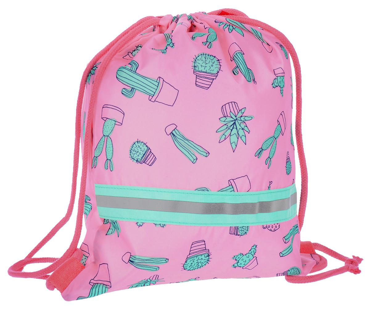 Мешок детский Reisenthel, цвет: розовый. IC3055IC3055Детский мешок с универсальным применением! Пригодится для поездок за город и путешествий, а также тем, кто посещает спортивные секции и кружки. Подойдет для хранения сменки в школе, тем более, что он легко и быстро затягивается с помощью шнурков. Эти же шнурки используются в качестве лямок: можно перекинуть их через плечо, а можно просто нести в руке. Внутри находится специальная плашка, куда можно вписать имя ребенка. Светоотражающие элементы обеспечат дополнительную безопасность на улице. Материал: прочный водоотталкивающий полиэстер премиум класса. Объем - 5 л.