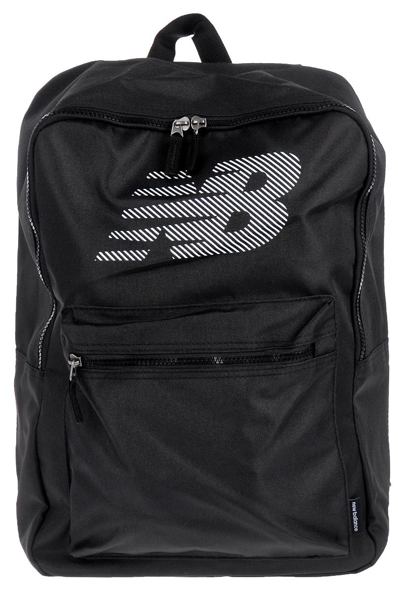 Рюкзак мужской New Balance, цвет: черный, 19 л. 500160/BK500160/BKЛегкий рюкзак на шнурке New Balance - это самый удобный способ держать все, что вам нужно для тренировок, под рукой. Основное отделение с утягивающим шнурком для удобного хранения. Плечевые ремешки для удобства переноски и комфорта. Рюкзак оформлен термопринтом с логотипом бренда.Объем - 19 л.