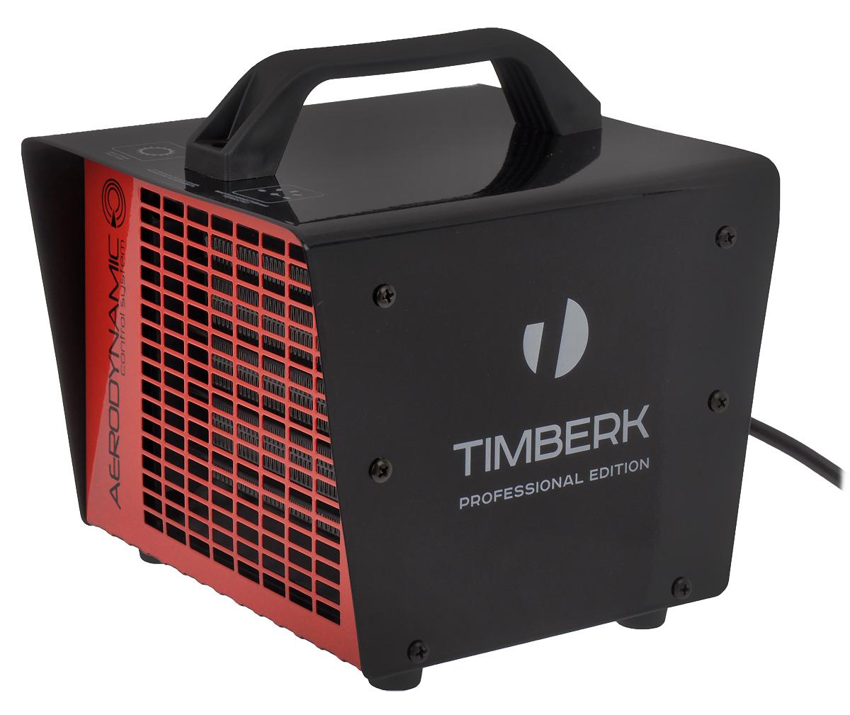 Timberk TFH T20MDR тепловентиляторTFH T20MDRТепловентилятор Timberk TFH T20MDR обеспечивает мгновенный нагрев воздуха в помещении при довольно низком уровне шума. Нагревательный элемент в виде керамических пластин обеспечивает высокую теплоотдачу и практически не вызывает иссушения воздуха в обогреваемом помещении. Для удобства транспортировки прибор оснащен эргономичной ручкой. Компактный размер и уникальный дизайнРегулируемая мощность обогрева