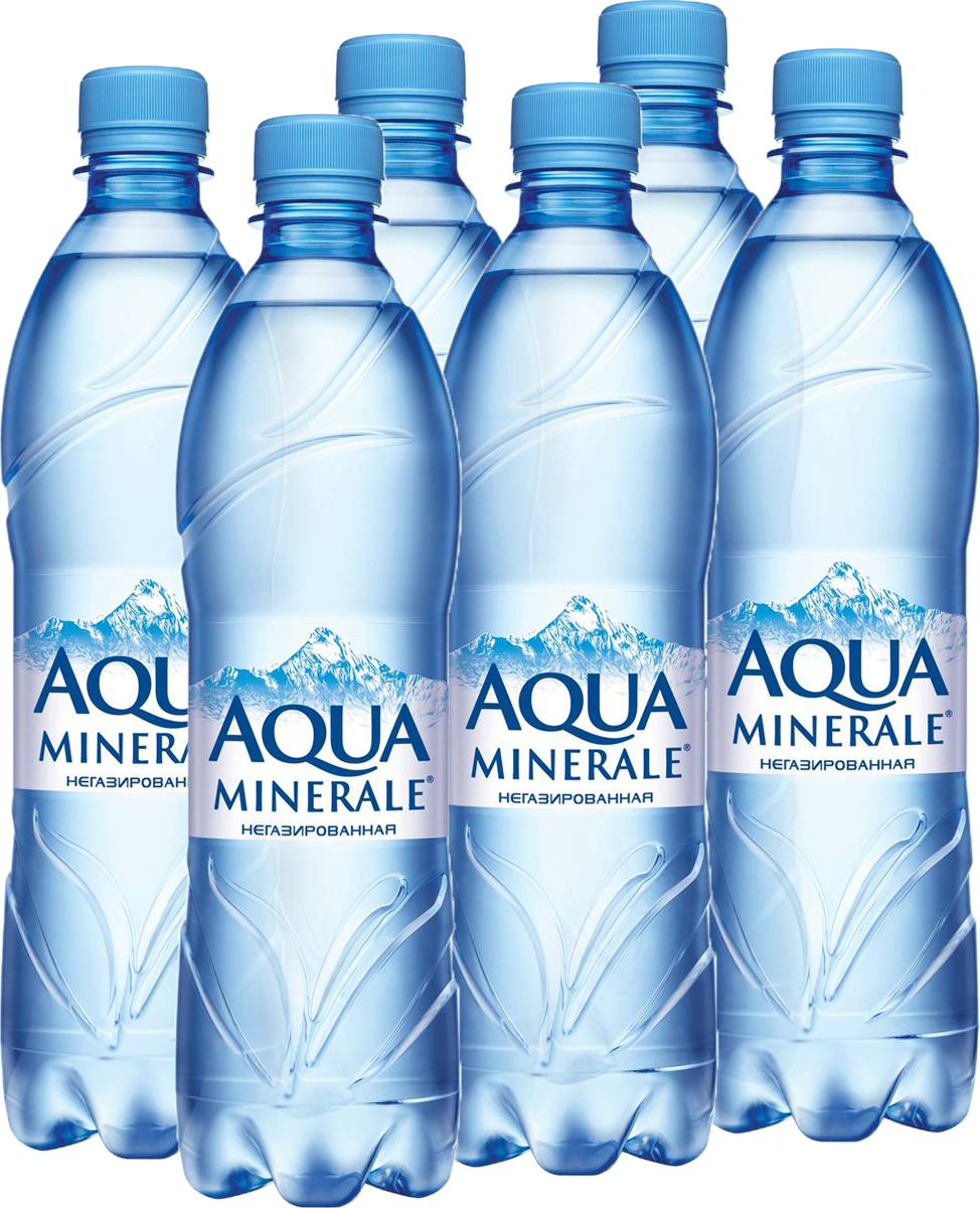 Aqua Minerale вода питьевая негазированная, 12 штук по 0,6 л340007069_блокиAqua Minerale – негазированная вода с удивительно мягким вкусом.О бренде:Aqua Minerale — питьевая вода с удивительно мягким вкусом.Появившись в России в 1995 году, бренд стал одним из первых в сегменте питьевой бутилированной воды. С тех пор марка полюбилась потребителям и остается одной из самых популярных на рынке — ежедневно в России продается более 700 тысяч бутылок Aqua Minerale. Сейчас в портфеле бренда негазированная и газированная вода, линейка Aqua Minerale Active, обогащенная витаминами и минералами, а также линейка Aqua Minerale с соком, представленная в 4-х вкусах: лимон, черешня, мята-лайм, яблоко.