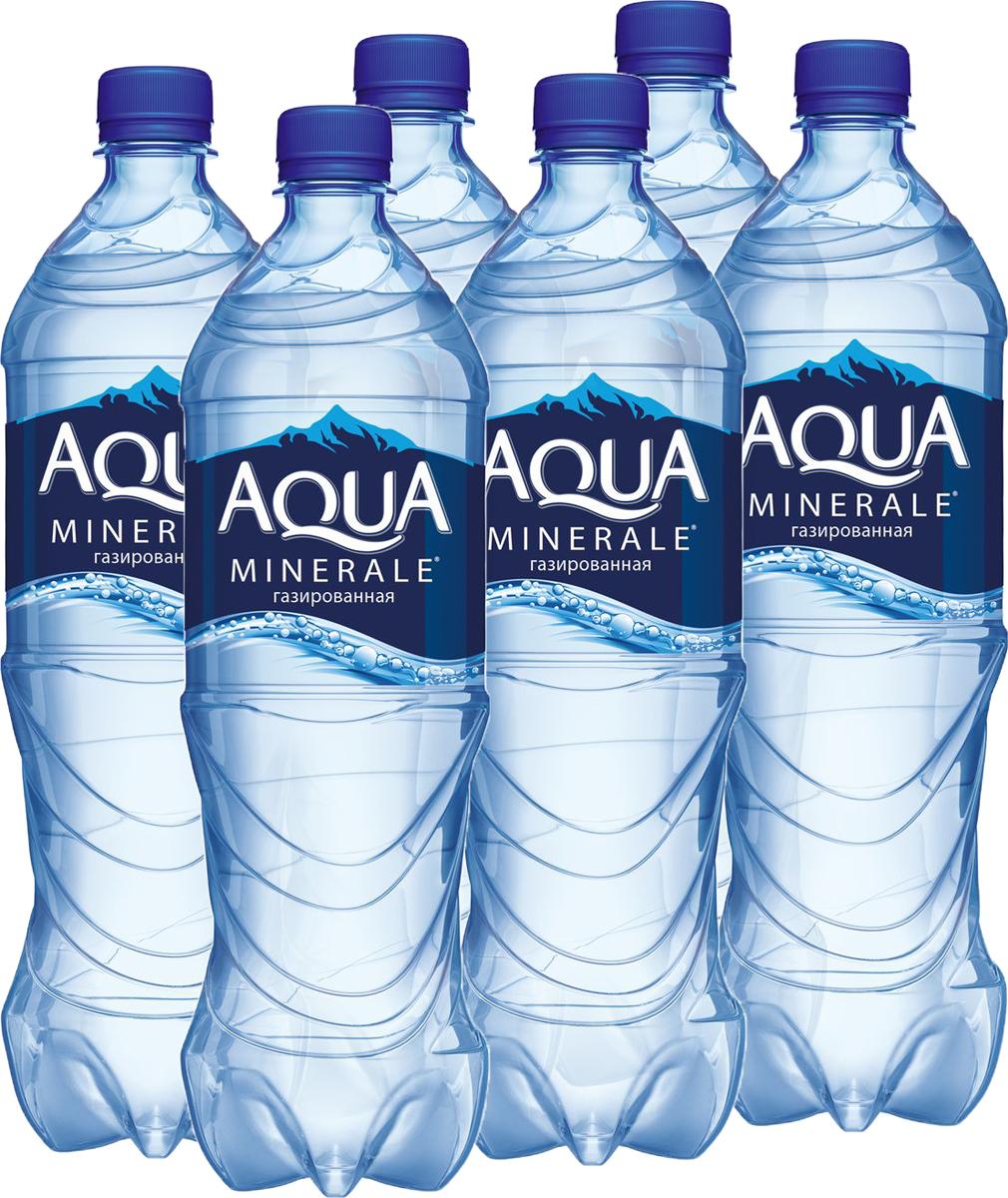 Aqua Minerale вода газированная питьевая, 12 штук по 1 л340030086_блокиAqua Minerale – газированная вода с удивительно мягким вкусом.О бренде:Aqua Minerale — питьевая вода с удивительно мягким вкусом.Появившись в России в 1995 году, бренд стал одним из первых в сегменте питьевой бутилированной воды. С тех пор марка полюбилась потребителям и остается одной из самых популярных на рынке — ежедневно в России продается более 700 тысяч бутылок Aqua Minerale. Сейчас в портфеле бренда негазированная и газированная вода, линейка Aqua Minerale Active, обогащенная витаминами и минералами, а также линейка Aqua Minerale с соком, представленная в 4-х вкусах: лимон, черешня, мята-лайм, яблоко.