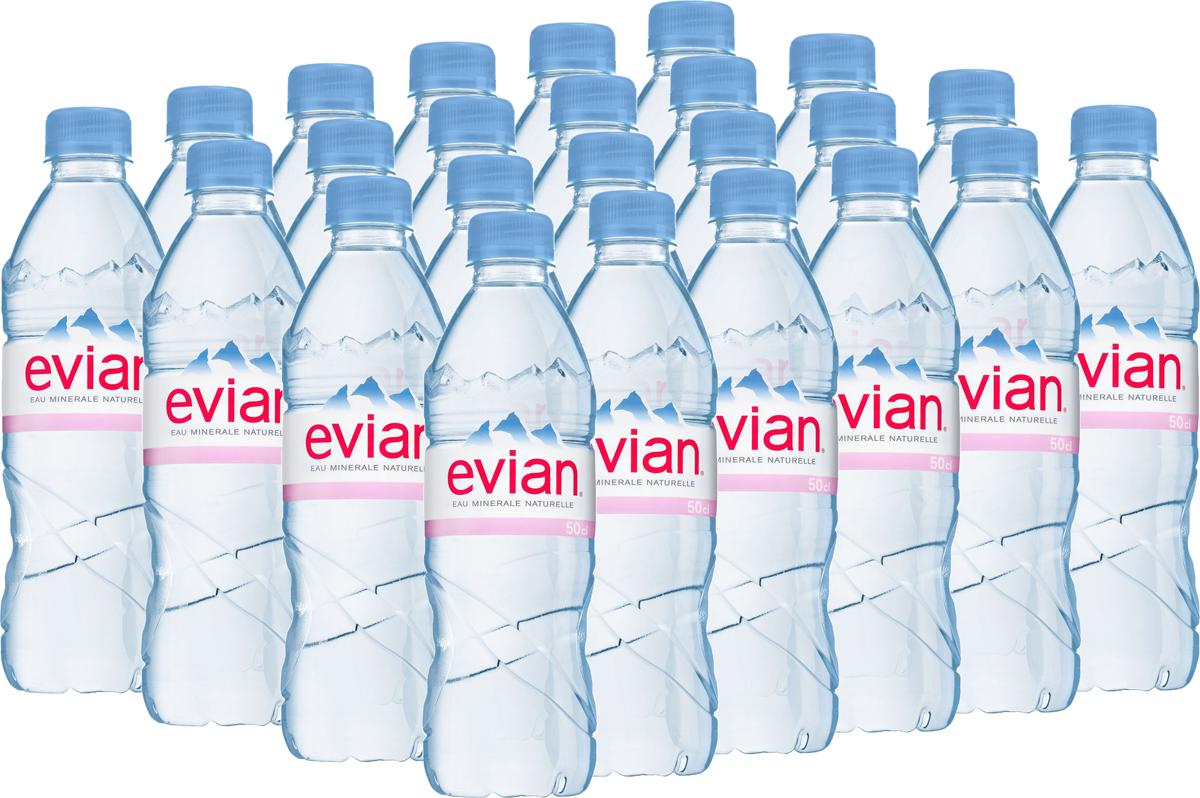 Evian вода минеральная природная столовая негазированная, 24 штук по 0,5 л340023601_блокиEvian - природная минеральная вода. Уникальный минеральный состав природной воды Evian способствует поддержанию водного баланса в органихме. Формат 0,5 л удобно взять собой на прогулку в парк или автомобиль.О бренде:Источник Evian находится на бережно охраняемой территории, в самом сердце французских Альп. В процессе естественной фильтрации горными породами в течение 15 лет природная минеральная вода Evian приобретает уникальный сбалансированный минеральный состав и, непосредственно у источника, разливается в бутылки.