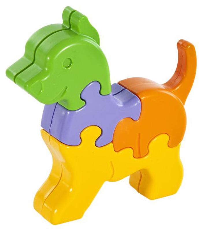 Жирафики Пазл для малышей Собачка 8 деталей
