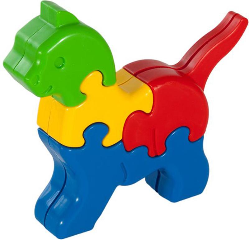 Жирафики Пазл для малышей Кошечка 8 деталей развивающие деревянные игрушки пазл для малышей репка 4 в 1