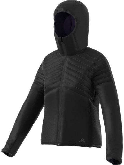 Куртка женская Adidas W Cytins Jacket, цвет: черный. BQ1954. Размер XS (40/42)BQ1954Женская куртка Adidas W Cytins Jacket отлично согревает благодаря функциональному синтетическому утеплителю и обеспечивает комфорт во время активного отдыха в холодную погоду. Гладкая конструкция в сочетании с валиками лучше удерживает тепло. Передние карманы дополнены выходом для провода наушников.