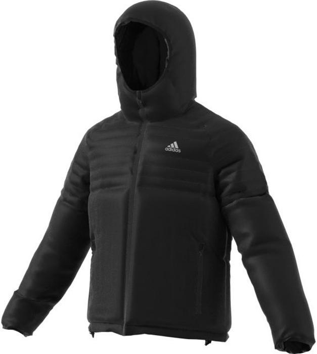 Куртка мужская Adidas Cytins Ho J, цвет: черный. BQ2012. Размер S (44/46)BQ2012Мужская куртка Adidas Cytins Ho J отлично согревает благодаря функциональному синтетическому утеплителю и обеспечивает комфорт во время активного отдыха в холодную погоду. Гладкая конструкция с сочетанием валиков лучше удерживает тепло. Передние карманы дополнены выходом для провода наушников.