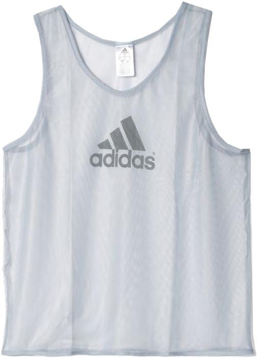 Майка мужская Adidas TRG Bib 14, цвет: серебристый. D84856. Размер S (44/46)D84856Футбольная майка из дышащей сетчатой ткани. Глубокие проймы рукавов обеспечивают полную свободу движений во время игры.