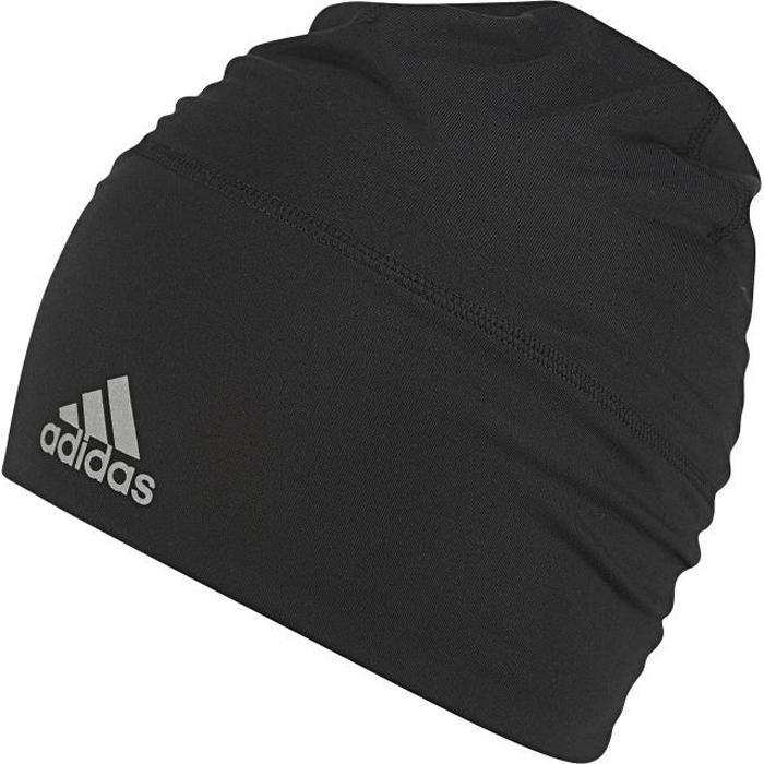 Шапка Adidas Clmlt B Loose, цвет: черный. BR0796. Размер 58/60BR0796Легкая шапка, которая эффективно отводит излишки влаги от кожи даже во время самых интенсивных тренировок. Удобный свободный крой и эластичный материал. Светоотражающие детали и логотип adidas на манжете. Ткань с технологией climalite быстро и эффективно отводит влагу с поверхности кожи, поддерживая комфортный микроклимат.