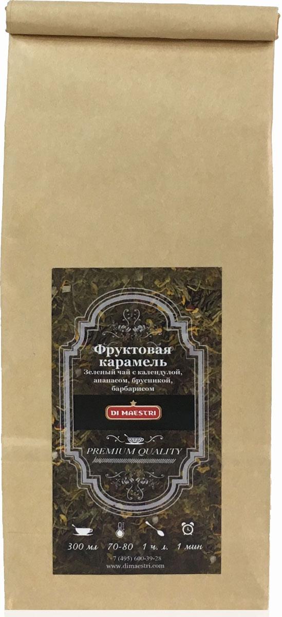 цены Di Maestri Фруктовая карамель чай листовой, 100 г