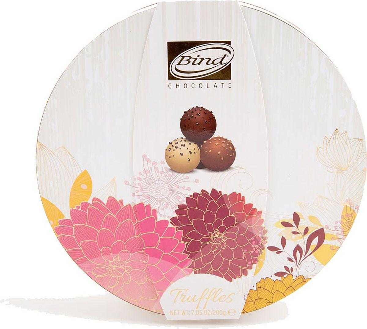 Bind Трюфель набор шоколадных конфет, 200 г mieszko михашки с арахисом набор шоколадных конфет 220 г