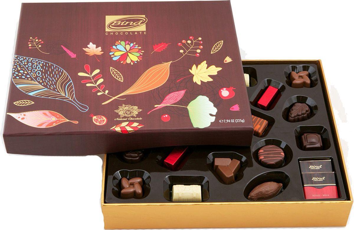 Bind Золотая Осень набор шоколадных конфет, 320 г спартак набор шоколадных конфет 300 г