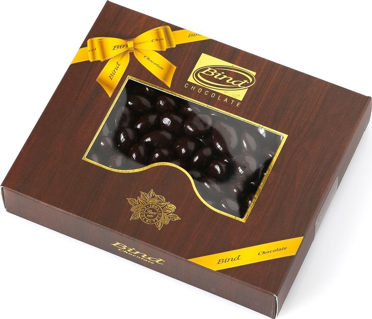 Bind изюм покрытый темным шоколадом драже, 100 гPCK-6510.100Драже в шоколадной глазури с изюмом, покрытое темным шоколадом, в подарочной упаковке.