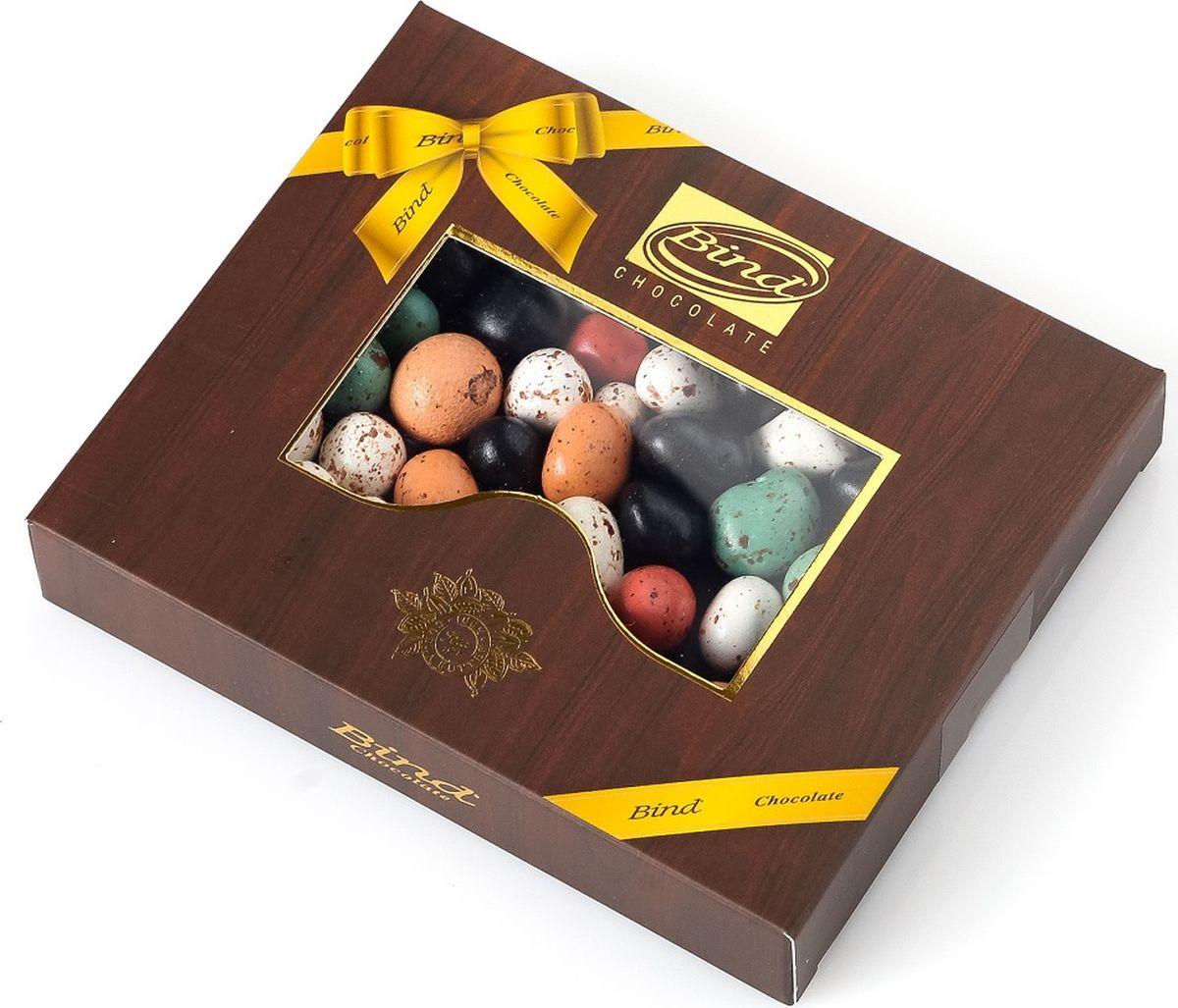 Bind шоколадный сладкий гравий с абрикосом в глазури драже, 100 г private bind