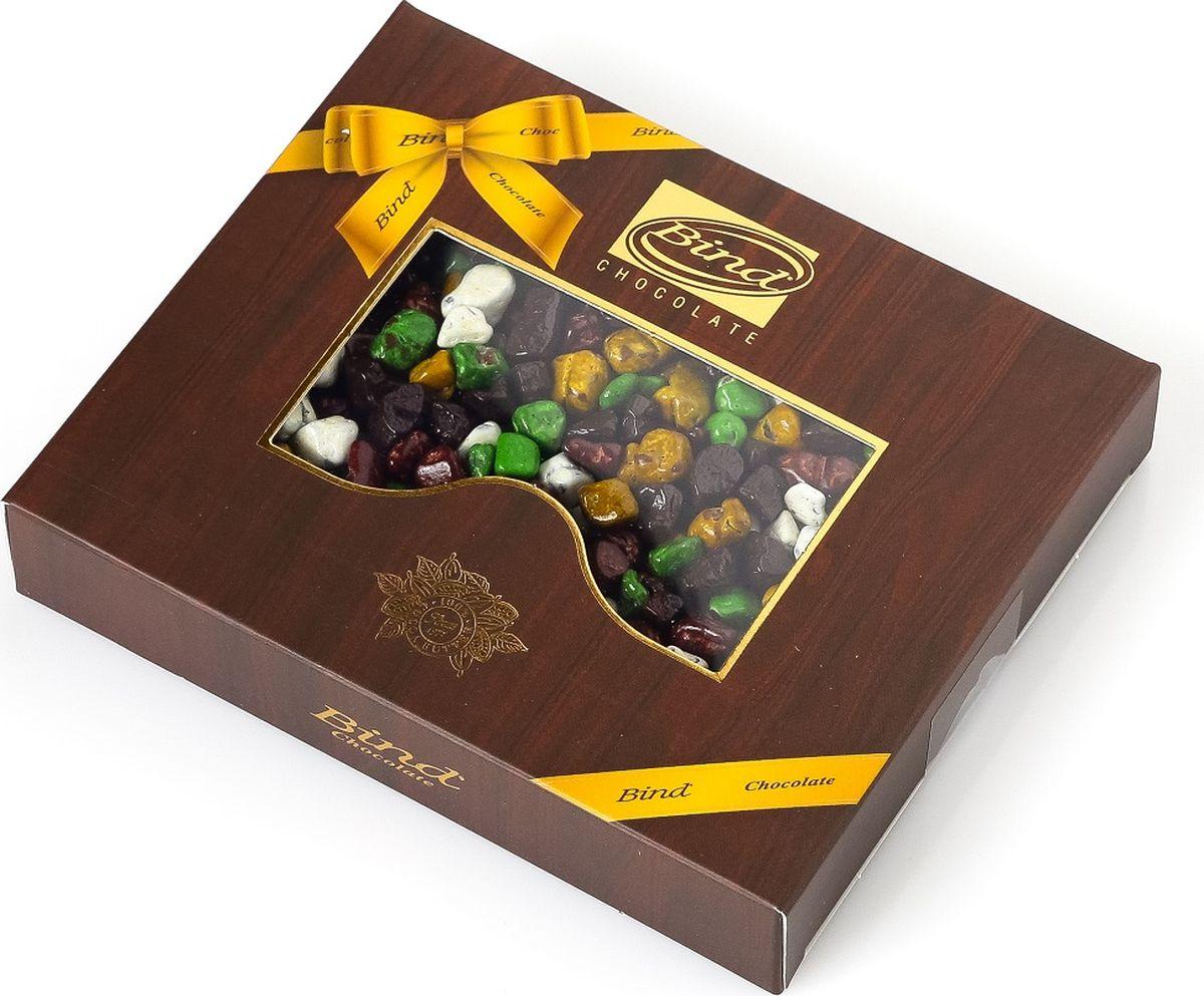 Bind гравий шоколадное драже, 100 гPCK-6545.100Драже представлены в элегантной подарочной упаковке, которая удивительным образом дополняет неповторимое содержание.