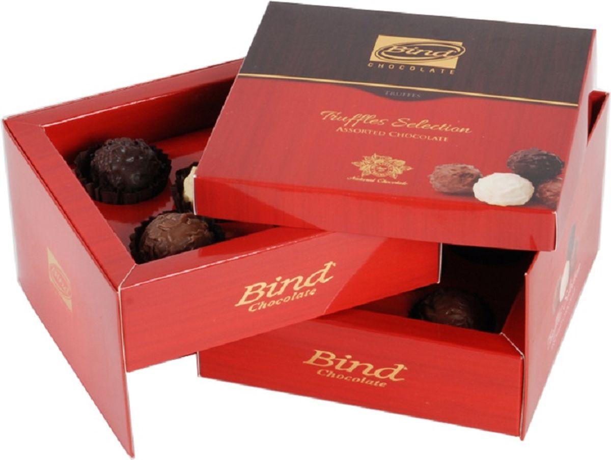 Bind Трюфель куб набор шоколадных конфет, 150 г набор конфет pergale dark розы ассорти 382г