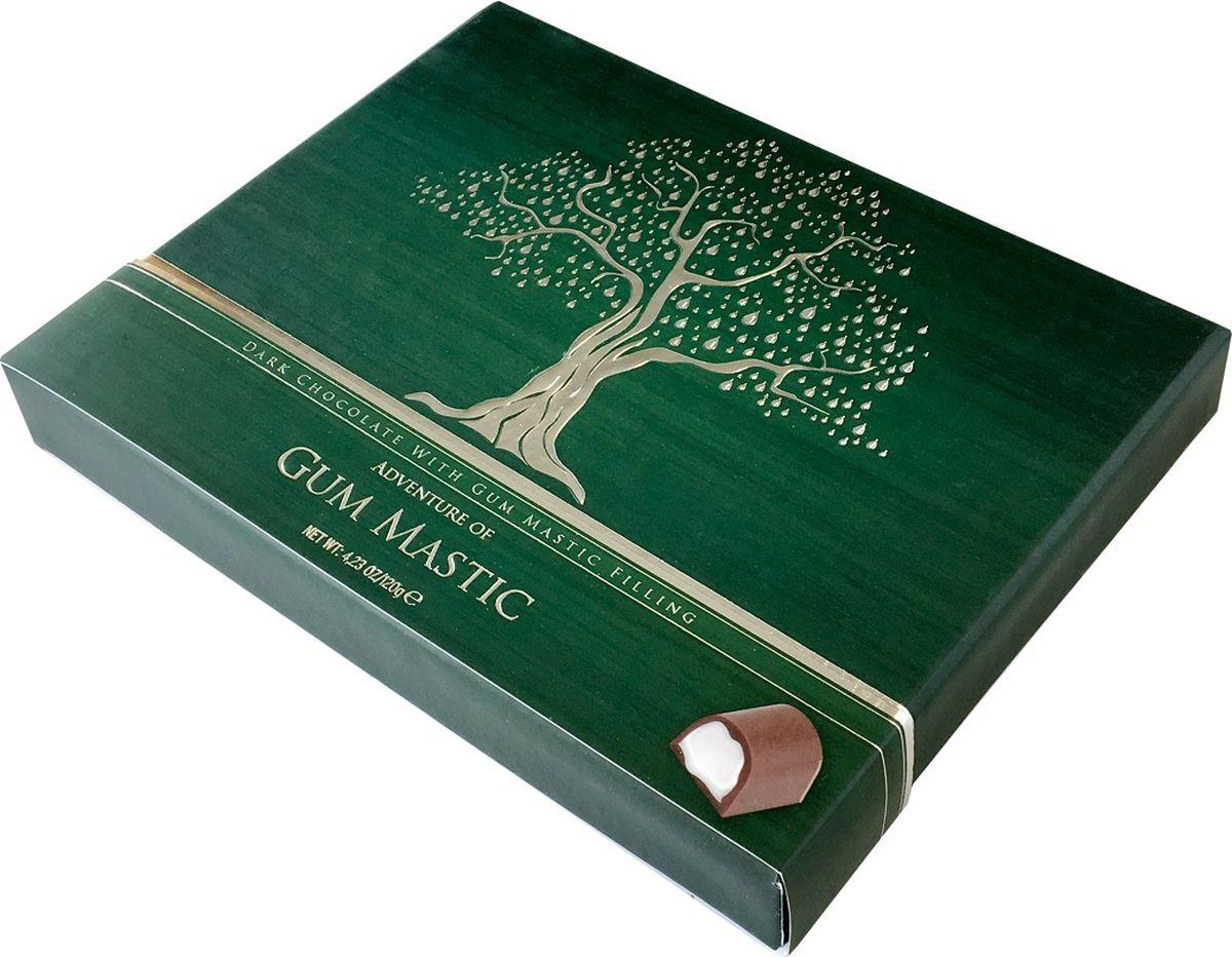 Bind Фреш набор шоколадных конфет из темного шоколада с мастикой, 120 г private bind