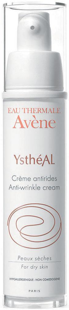 Avene Ystheal Крем от cтарения, 30 млC00248Крем Ystheal сохраняет молодость кожи. Предотвращает* и борется с первыми признаками старения, в основном вызываемыми воздействием UV лучей, благодаря уникальной комбинации активных компонентов:Ретинальдегид - эталонный активный ингредиент против старения кожи, обладающий клинически и дерматологически доказанной эффективностью против морщин.G.G.O - защищает кожный эластин.Претокоферил - мощный клеточный антиоксидант.Кожа более гладкая, морщины зрительно уменьшаются. Восстанавливается тонус кожи, ее эластичность и сияние.Благодаря насыщенной текстуре и высокой концентрации термальной воды Avene, крем Ystheal прекрасно подходит для сухой кожи, делая ее мягкой, эластичной и придавая чувство комфорта. Высокая переносимость протестирована на чувствительной коже.*In vitro тестирование ингредиентов