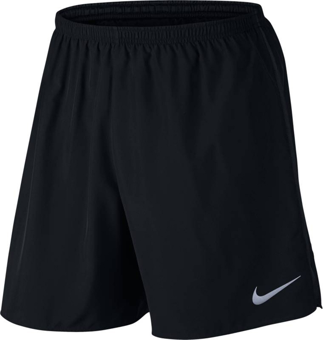 Шорты спортивные мужские Nike M NK Dry Short 7in Core, цвет: черный. 885285-010. Размер S (44/46)885285-010Mens Nike Dry Running Shorts ЛЕГКИЙ КРОЙ ДЛЯ МОЛНИЕНОСНОЙ СКОРОСТИ. Мужские беговые шорты Nike Dry с минималистичным дизайном сделают твой шаг еще более легким. Отводящая влагу ткань, поддерживающая внутренняя подкладка и вставки из сетки по бокам — теперь тебе ничто не помешает достичь финиша первым. Легкая ткань Nike Dry отводит влагу и обеспечивает комфорт.