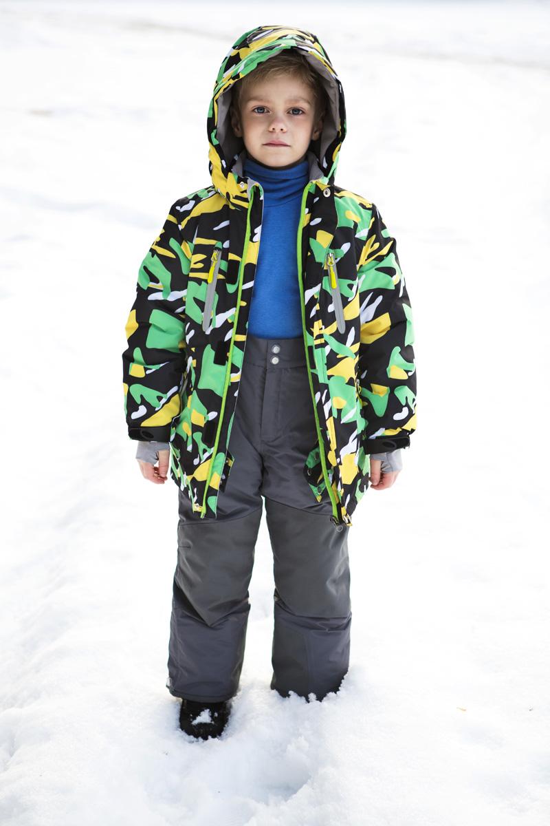 Брюки утепленные для мальчика atPlay!, цвет: серый. 2pt737. Размер 104 куртка для мальчика atplay цвет серый 2jk710 размер 128 8 9 лет