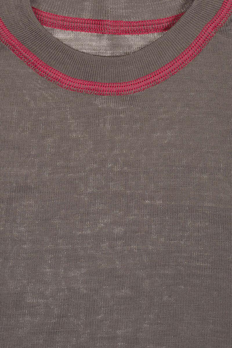 Термобелье кофта детская atPlay!, цвет:  серый, розовый.  3tjk760.  Размер 140