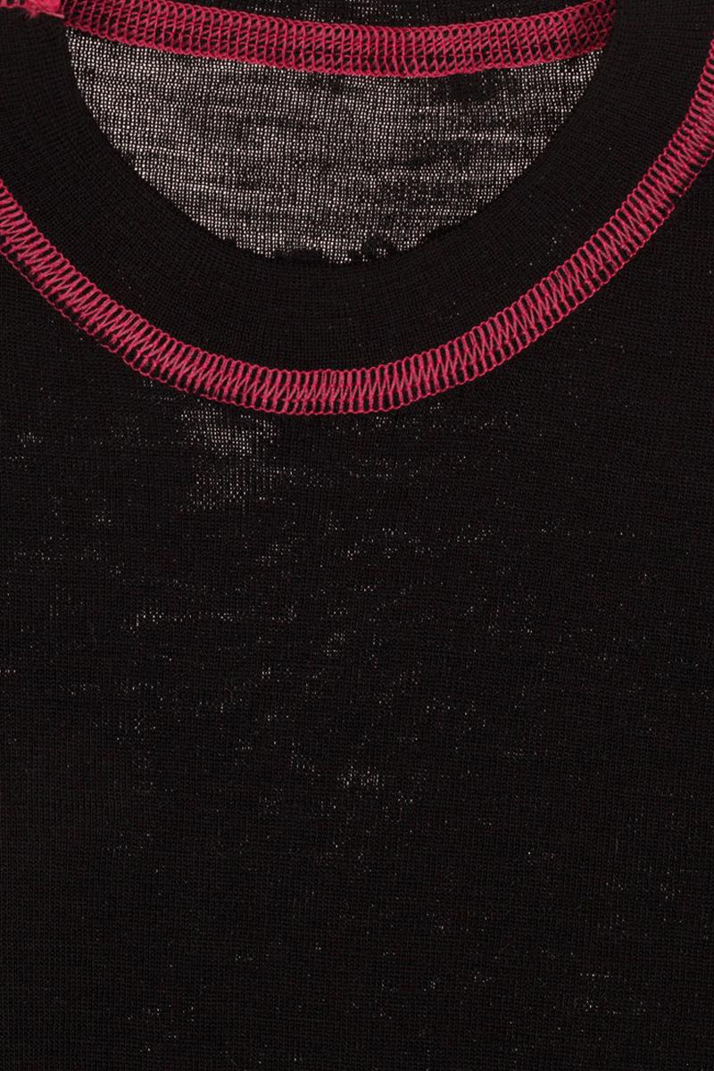 Термобелье кофта детская atPlay!, цвет:  черный, розовый.  3tjk760.  Размер 134 atPlay!