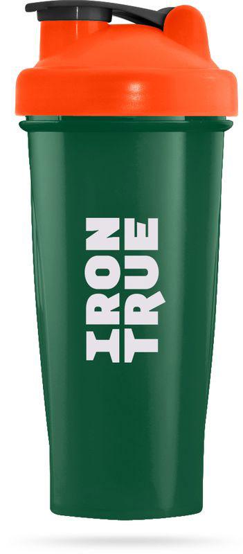 Шейкер спортивный Irontrue, цвет: зеленый, оранжевый, 700 мл4603726212236Классический спортивный шейкер Irontrue выполнен из высококачественного полипропилена. Шарик-пружинка в комплекте. Не содержит BPA.Как повысить эффективность тренировок с помощью спортивного питания? Статья OZON Гид