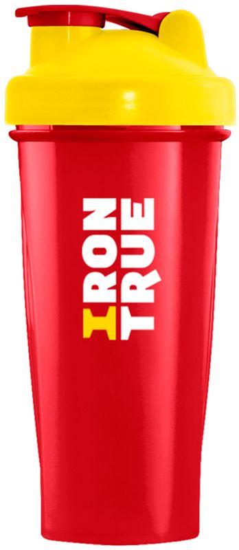 Шейкер спортивный Irontrue, цвет: красный, желтый, 700 мл4603726212700Классический шейкер Irontrue выполнен из полипропилена и полиэтилена. Не содержит BPA. Модель оснащена венчиком для наилучшего перемешивание напитка. Удобный шейкер пригодится как на тренировках, так и в походах или просто на прогулке.Как повысить эффективность тренировок с помощью спортивного питания? Статья OZON Гид