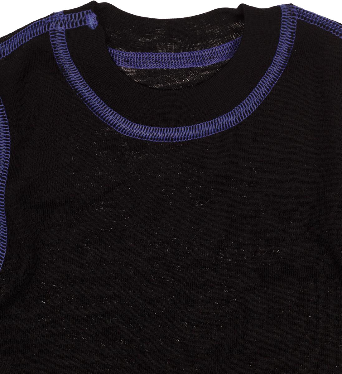 Термобелье кофта детская atPlay!, цвет:  черный, фиолетовый.  3tjk761.  Размер 110