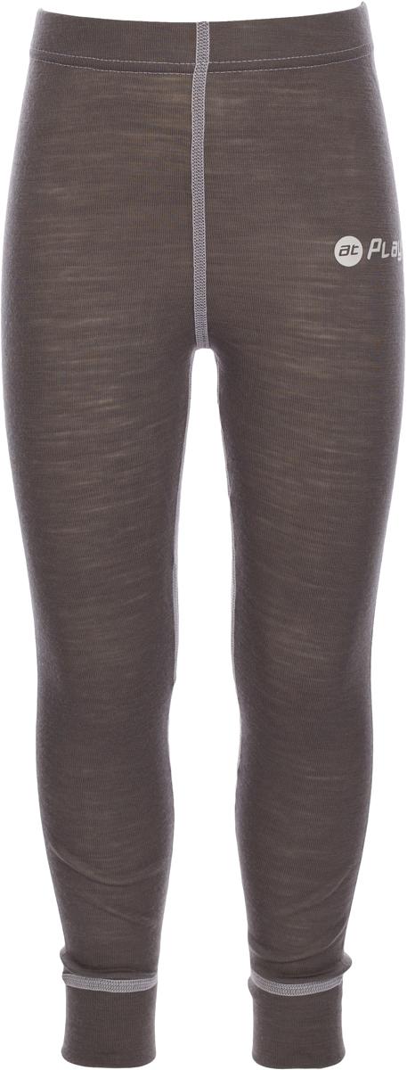 Термобелье брюки детские atPlay!, цвет: серый, белый. 3tpt762. Размер 983tpt762Термобелье брюки atPlay! выполнены из шерсти мериносовых овец. Легкое, удобное, не стесняющее движений термобелье станет идеальным первым слоем и отличным дополнением к мембранной одежде. Спасает от переохлаждения и от перегрева, а также отводит излишек влаги от кожи. Плоские швы не натирают и не давят на кожу. Шерсть мериносов не колется и не вызывает аллергию. Этот тип термобелья подойдет для чувствительных к холоду детей и при очень низких температурах воздуха.