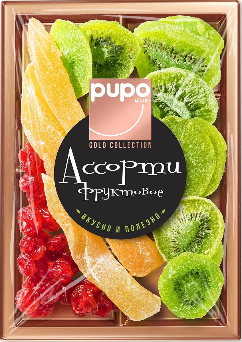Pupo Gold Collection фруктовое ассорти финики, груша, яблоко, 230 г14.7965