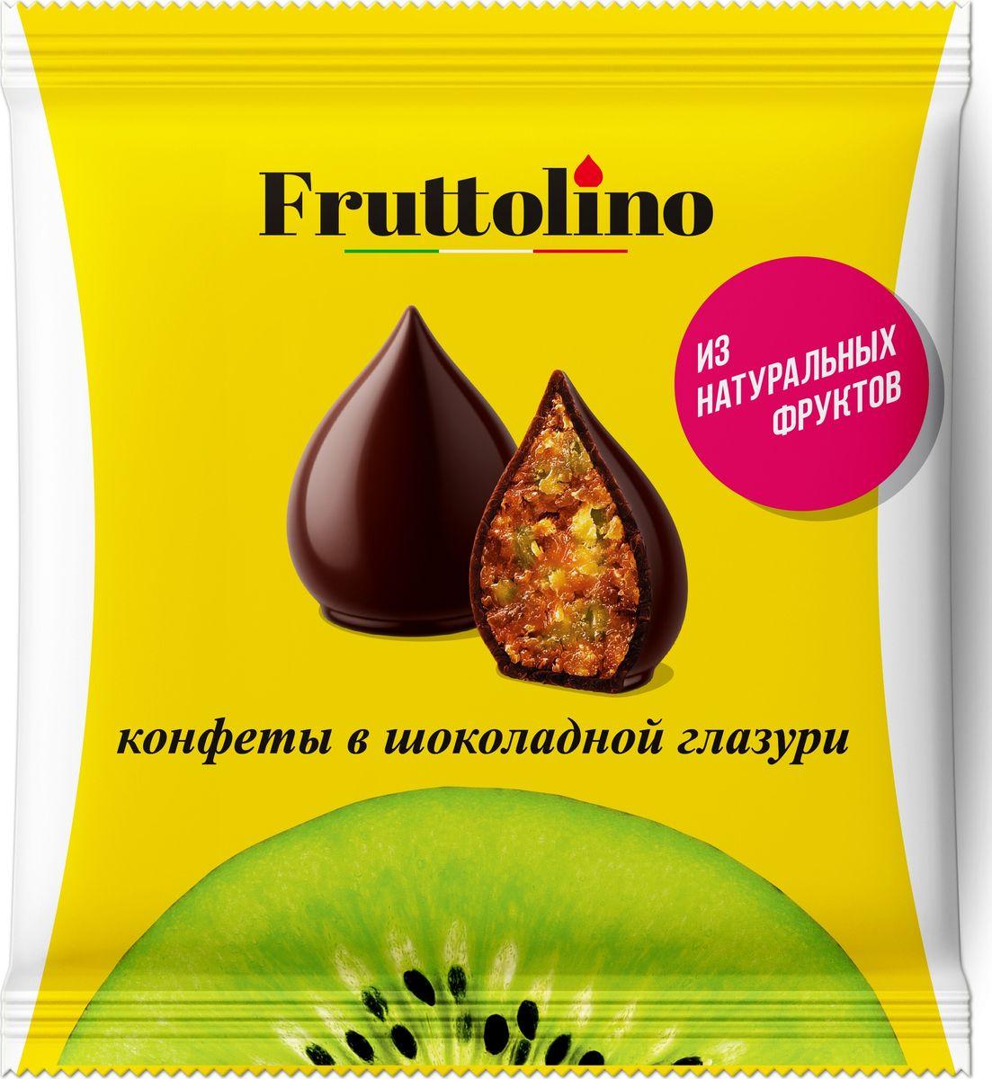 Fruttolino Киви конфеты, 140 г16.7392Сочные и душистые фрукты – основной ингредиент конфет Fruttolino, приготовленных из натуральных фруктов и покрытых превосходной шоколадной глазурью, созданной из отборных африканских какао-бобов.Конфеты Fruttolino прекрасно заменят привычные сладости, понравятся всем, кто заботится о здоровье и фигуре.